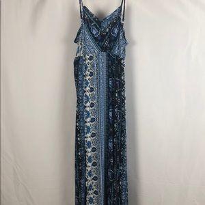 Icon Apparel Maxi Dress Adjustable Straps XL NWT